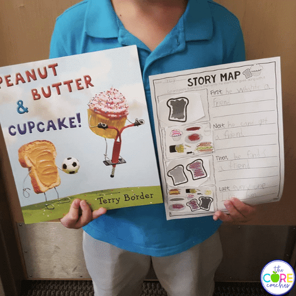 peanut butter and cupcake activities