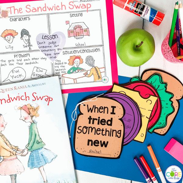 The Sandwich Swap Read-Aloud
