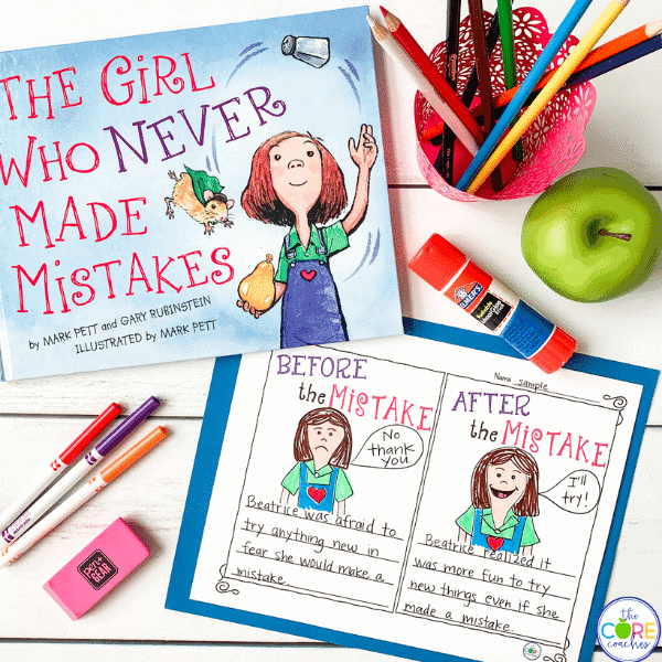 The Girl Who Never Made Mistakes Activities