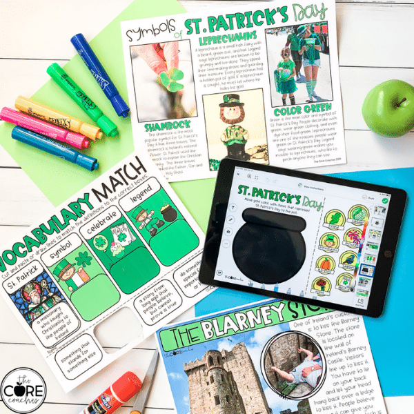 St. Patrick's Day Lesson Plan Ideas