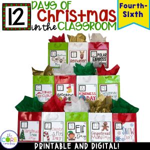 Christmas Activities | 12 Days Of Christmas Countdown