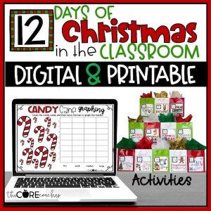12 Days Of Christmas Countdown Digital And Printable Bundle