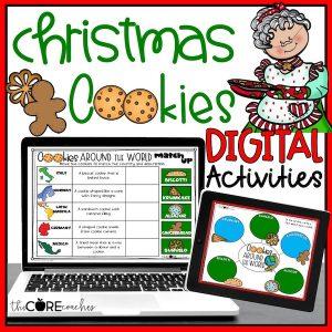 Cookies Digital Christmas Activities
