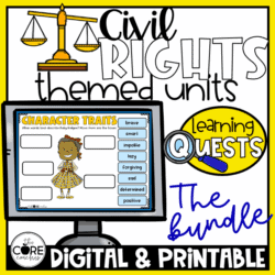Civil Rights Independent Learning Quest Bundle