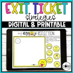 Digital Exit Ticket Formative Assessments   For Distance Learning