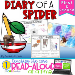 DIARY OF A SPIDER FREEBIE