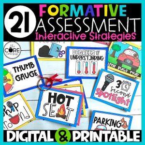 Digital Formative Assessment: Checking For Understanding