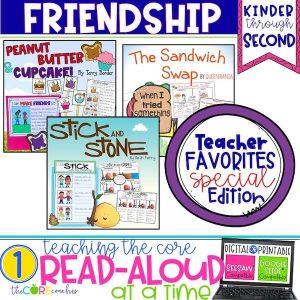 Interactive Friendship Read Alouds Bundle Activities