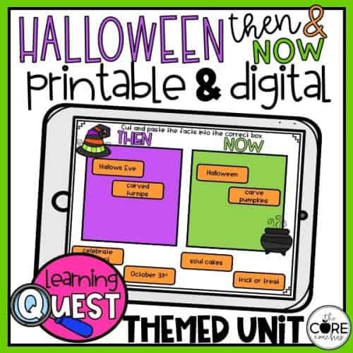 Digital Halloween Activities