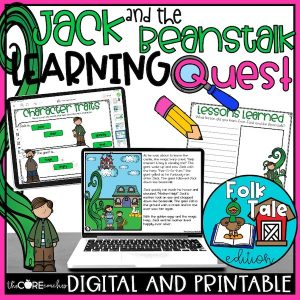 Digital Jack And The Beanstalk Learning Quest