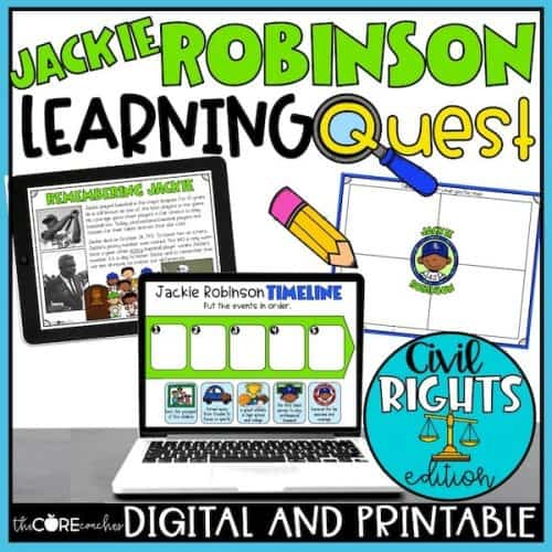 Jackie Robinson Learning Quest