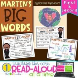 Martin Luther King Jr. Interactive Read-Aloud Activities