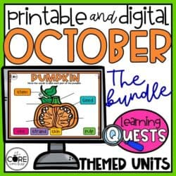 October Learning Quests Bundle