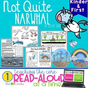 Not Quite Narwhal Digital Read-Aloud With Google Slides
