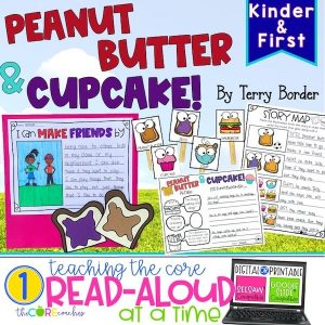 Peanut Butter And Cupcake Digital Read-Aloud