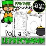 Roll a Leprechaun FREEBIE