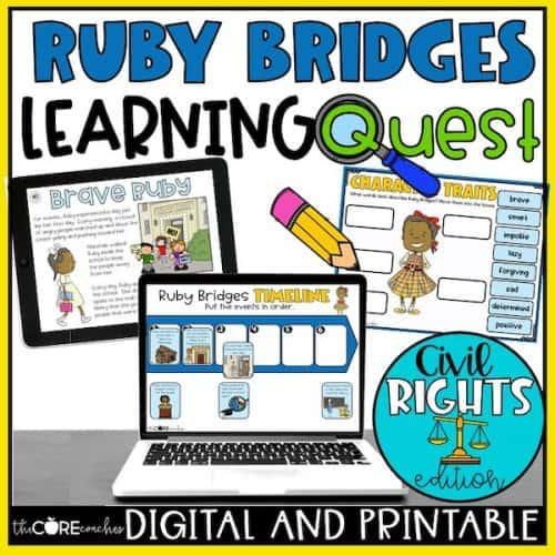 Ruby Bridges Worksheets + Learning Quest