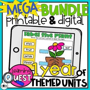 1st + 2nd Grade Lesson Plans - Mega Bundle