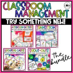 Simple Strategies For Classroom Management Bundle