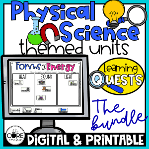 Physical Science Learning Quest
