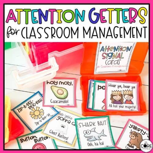 Attention Getters For Classroom