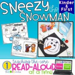 Sneezy The Snowman: Interactive Read-Aloud Lesson Plans And Activities