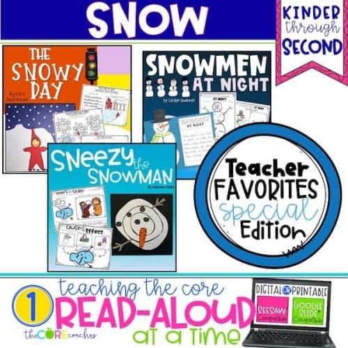 Snow Themed Read-Alouds Bundle
