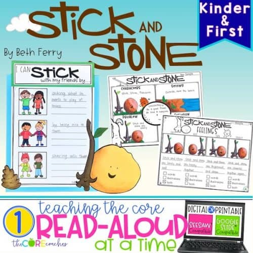 Stick And Stone Read-Aloud