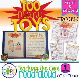 Too Many Toys FREEBIE cover