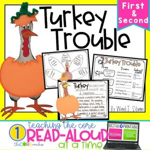 Turkey Trouble - Interactive Read-Aloud Lesson Plans And Activities