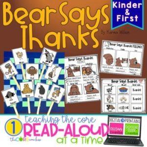 Bear Says Thanks Digital Read-Aloud