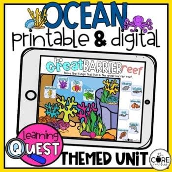 2nd Grade Oceans Lesson