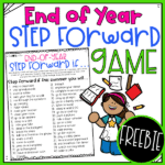 End of year step forward game