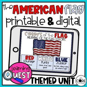 American Flag Lesson Plan