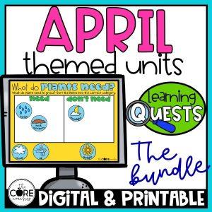 April Lessons Plan