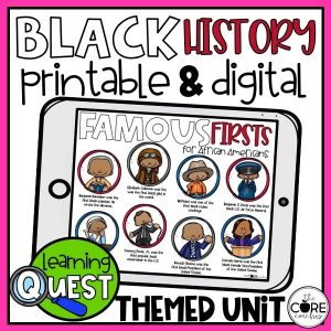 Black History Learning Quest