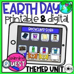 Earth Day Lesson Learning Activities