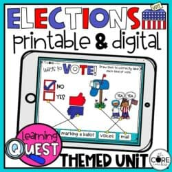 Digital Election Day Voting Activities For November