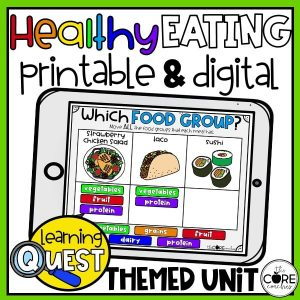Teaching Healthy Eating To 2nd Graders: Lesson Plan + Activities