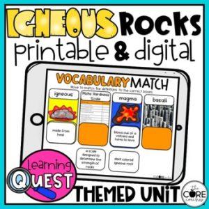 Igneous Rocks Unit