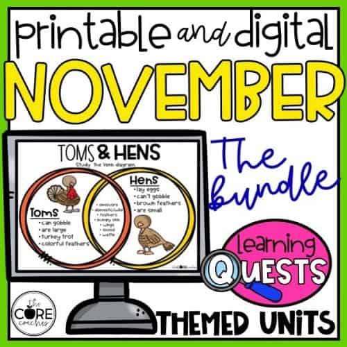 November Learning Quests Bundle