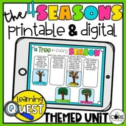 Seasonal Worksheets And Lesson Plans