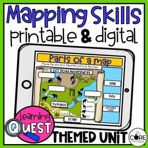 Map Skills Unit Learning Activities