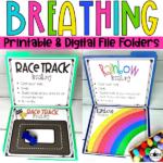 Mindful Breathing File Folders