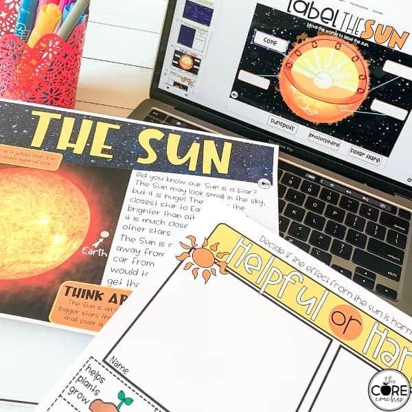 Lesson Plans On The Sun
