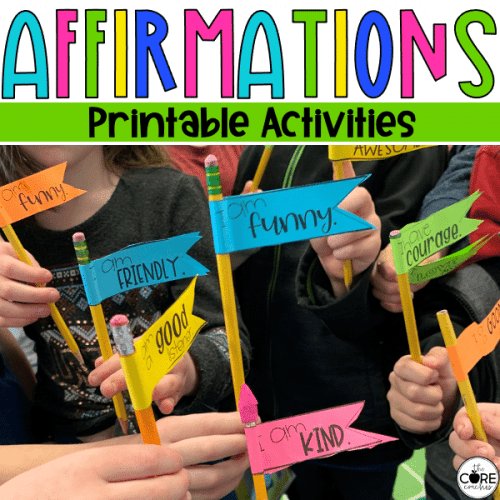 Printable Affirmation Activities