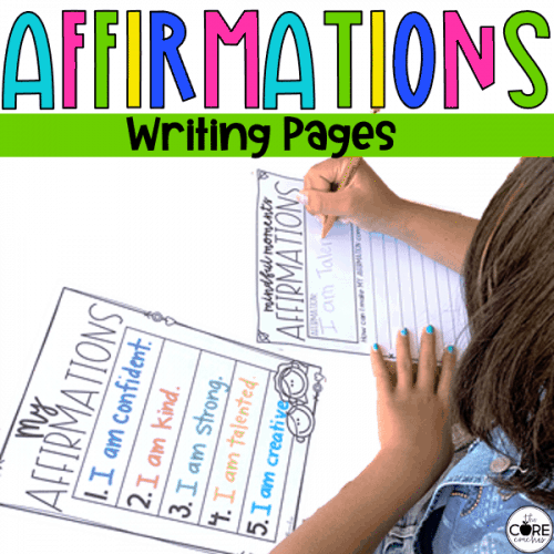 Affirmation Writing Activities