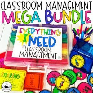 Classroom Management Mega Bundle