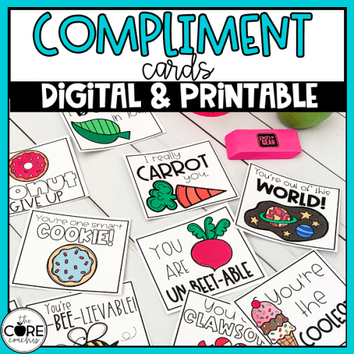 Compliment Cards For Students