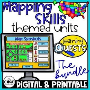 Mapping Skills Unit Bundle